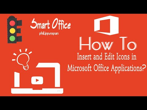 Insert And Edit Icons in Microsoft Office 365