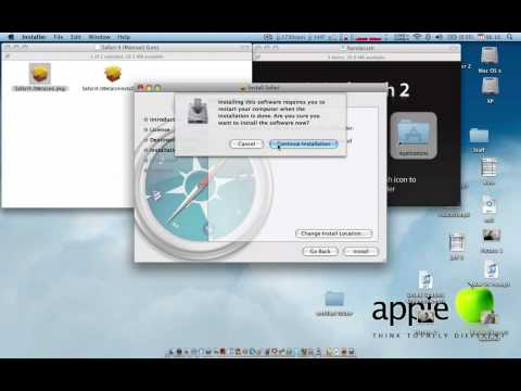 How to install programs on Mac OS X *Updated Video in Description