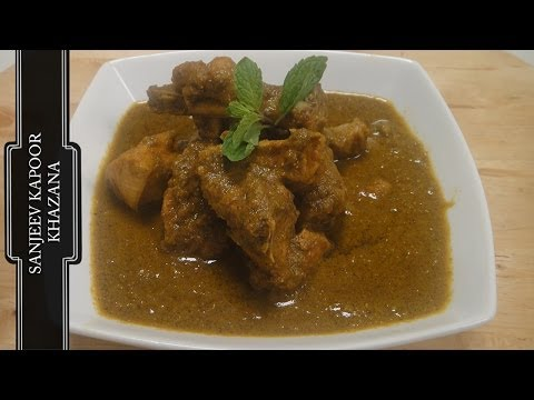 Green Masala Chicken Curry | Sanjeev Kapoor Khazana