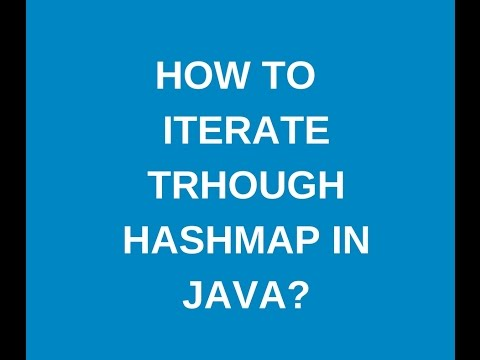 How to iterate through hashmap in java?