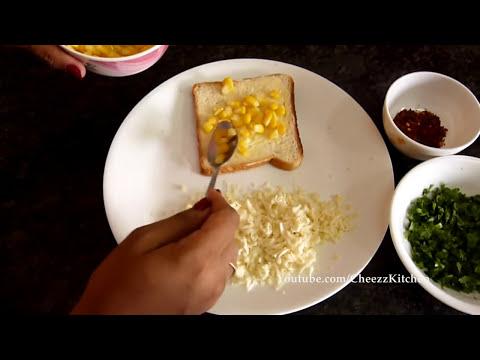 Chilli Cheese Corn Toast