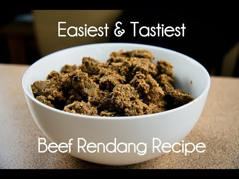 How to cook the easiest Beef Rendang Recipe