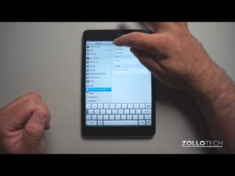 iPad Tips - How to Set a Signature for Email