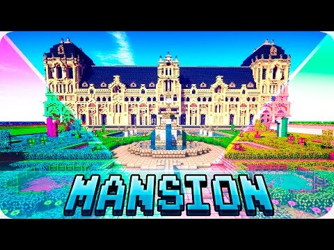 Minecraft - TOP 5 Best Mansion Houses in Minecraft - Mansions with Interior Design