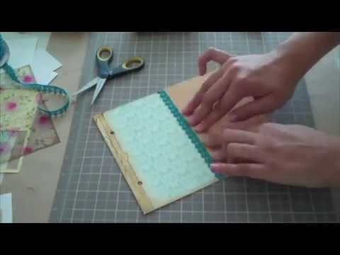 How to Make Your Own Planner and Recipe Book (timelapse)