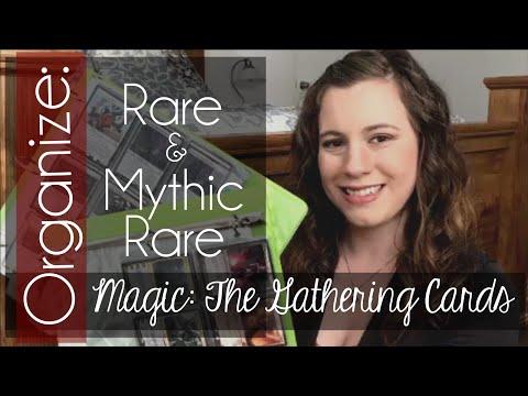 Organizing Rare and Mythic Rare MTG Cards | Simply Deb |