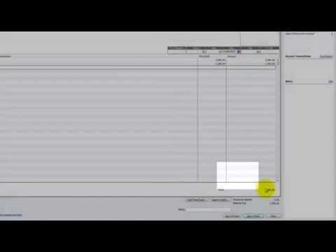 QuickBooks Tutorial - How to record Donated Services in QuickBooks