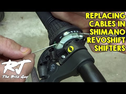 How To Replace Shifter Cable On Shimano Revoshift Shifters