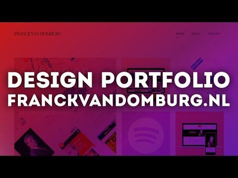 Design Portfolio Review • franckvandomburg.nl