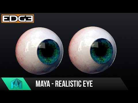 Maya Tutorial - How to create a realistic Eyeball with Arnold