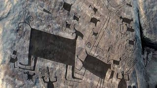 They find in Venezuela the largest petroglyphs in the world, specifically in the Ature rapids.