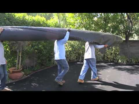 Synthetic Grass Installation Video