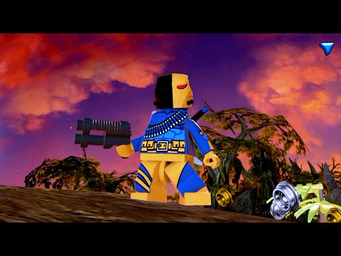 LEGO Batman 3: Beyond Gotham - Deathstroke Gameplay and Unlock Location
