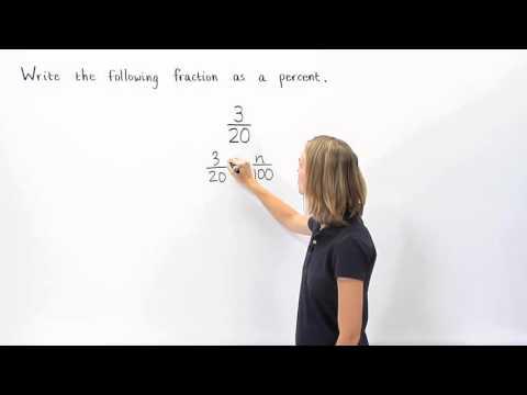 Fraction to Percent | MathHelp.com