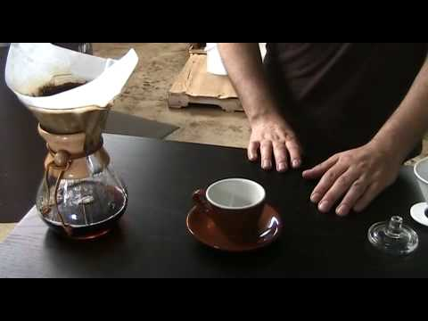 How to make a great cup of coffee with a Chemex coffee maker