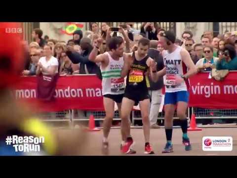 London Marathon 2017 - Swansea Runner Helps Man Finish Race