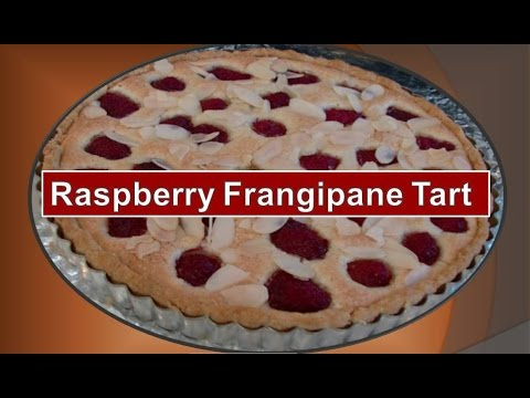 How to bake a Raspberry Frangipane Tart by Betty Bannerman Busciglio