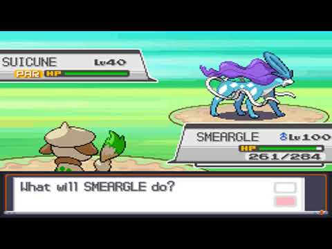Pokemon Soul Silver - Catching Suicune