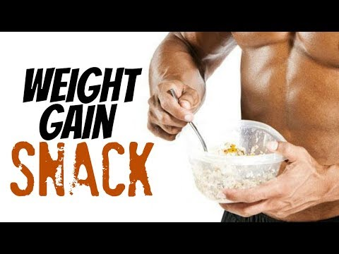5-Minute Homemade Weight Gain Snack Recipe for Hardgainers