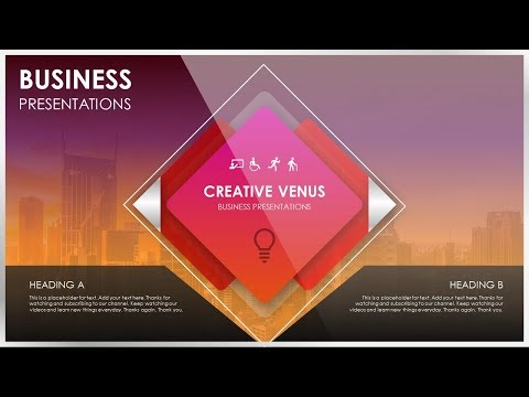 How To Create a Most Beautiful Introduction Slide in Microsoft Office PowerPoint PPT