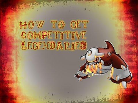 How To Capture Competitive Legendaries