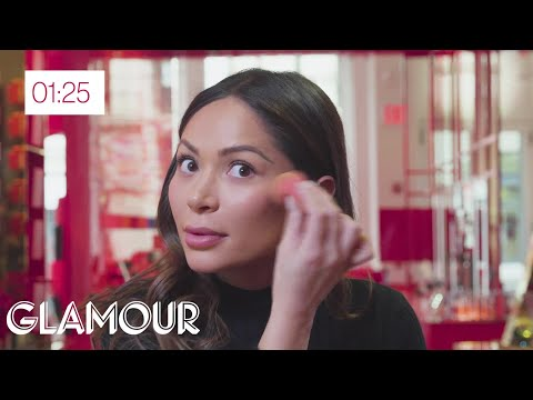 Marianna Hewitt Puts On Party Makeup in 2 Minutes Flat | Glamour