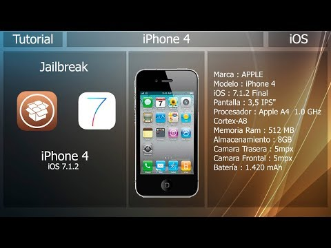 iPhone 4 - Jailbreak iOS 7.1.2 ⚙️