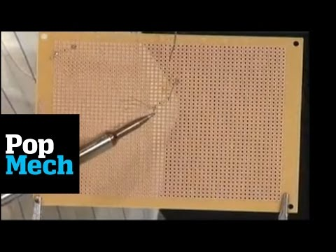 How to Solder to a Circuit Board | PopMech