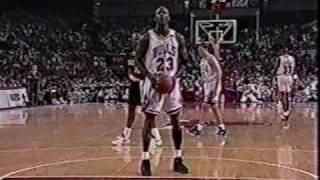 Bulls vs Blazers 1992 Finals - Game 6 - Bulls win 2nd NBA title