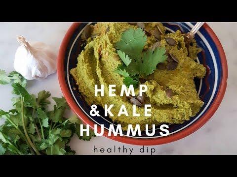 Hemp and Kale Hummus