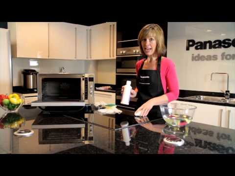 How to clean your Panasonic Combi Oven