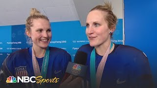 2018 Winter Olympics Recap Day 13 (USA Hockey) I Part 1 I NBC Sports