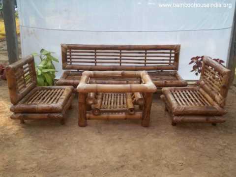 Bamboo Furniture in India.wmv