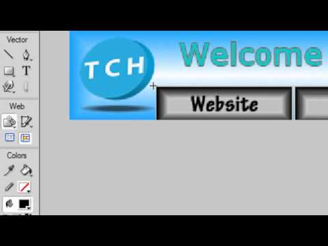 HD Tutorial: How to make a Banner in Adobe Fireworks CS5-CS4-CS3