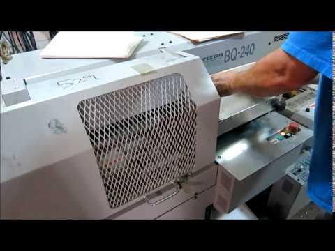 Horizon BQ 240 Perfect Binder w Dust Master Portable Dust Collector