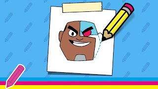 Mxtube.net :: Teen Titans Go How To Draw Cyborg One Angry Cyborg ...