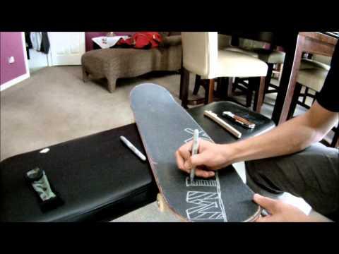 Skate Griptape Art - MINAX Design
