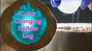 how to make an led log lamp