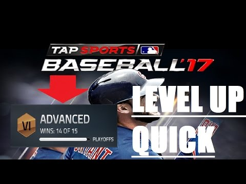 TAP BASEBALL 17   HOW TO ADVANCE THROUGH LEVELS/RANKS FAST
