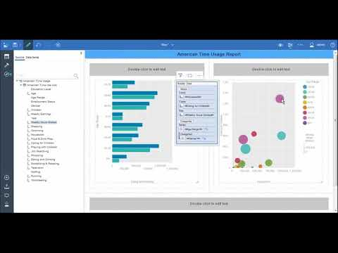 How to create a professional report with Cognos Analytics