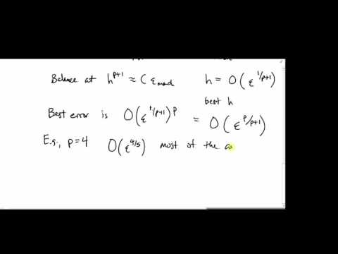 MATH426: Finite differences (part 2 of 2)