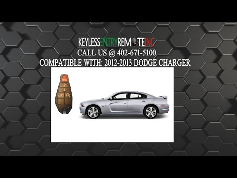 How To Replace Dodge Charger Key Fob Battery 2012 2013