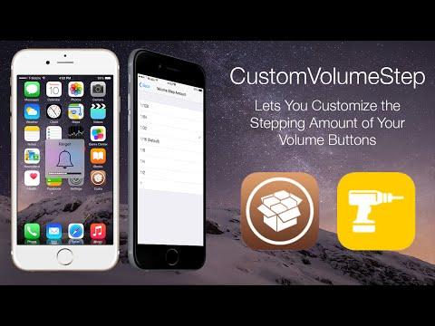 CustomVolumeStep: Lets You Customize the Stepping Amount of Your Volume Buttons
