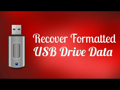 how to recover data after formatting pen drive | 2017