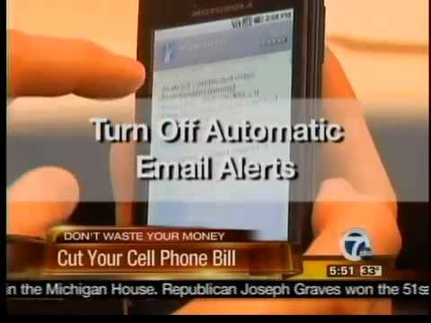 Cut your cell phone bill