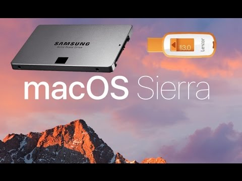 How to install an SSD with Yosemite / El Capitan / Sierra on Macbook Pro