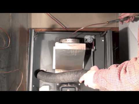 Cleaning the oil furnace heat exchanger