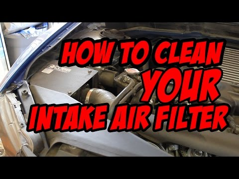 How to Clean COBB Intake Air Filter