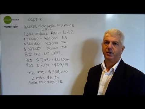 Part 3 Lenders Mortgage Insurance