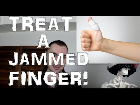 Jammed Finger Treatment: What To Do To Heal It!